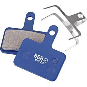 BBB DiscStop BBS-53 Patins de frein Shimano, blue